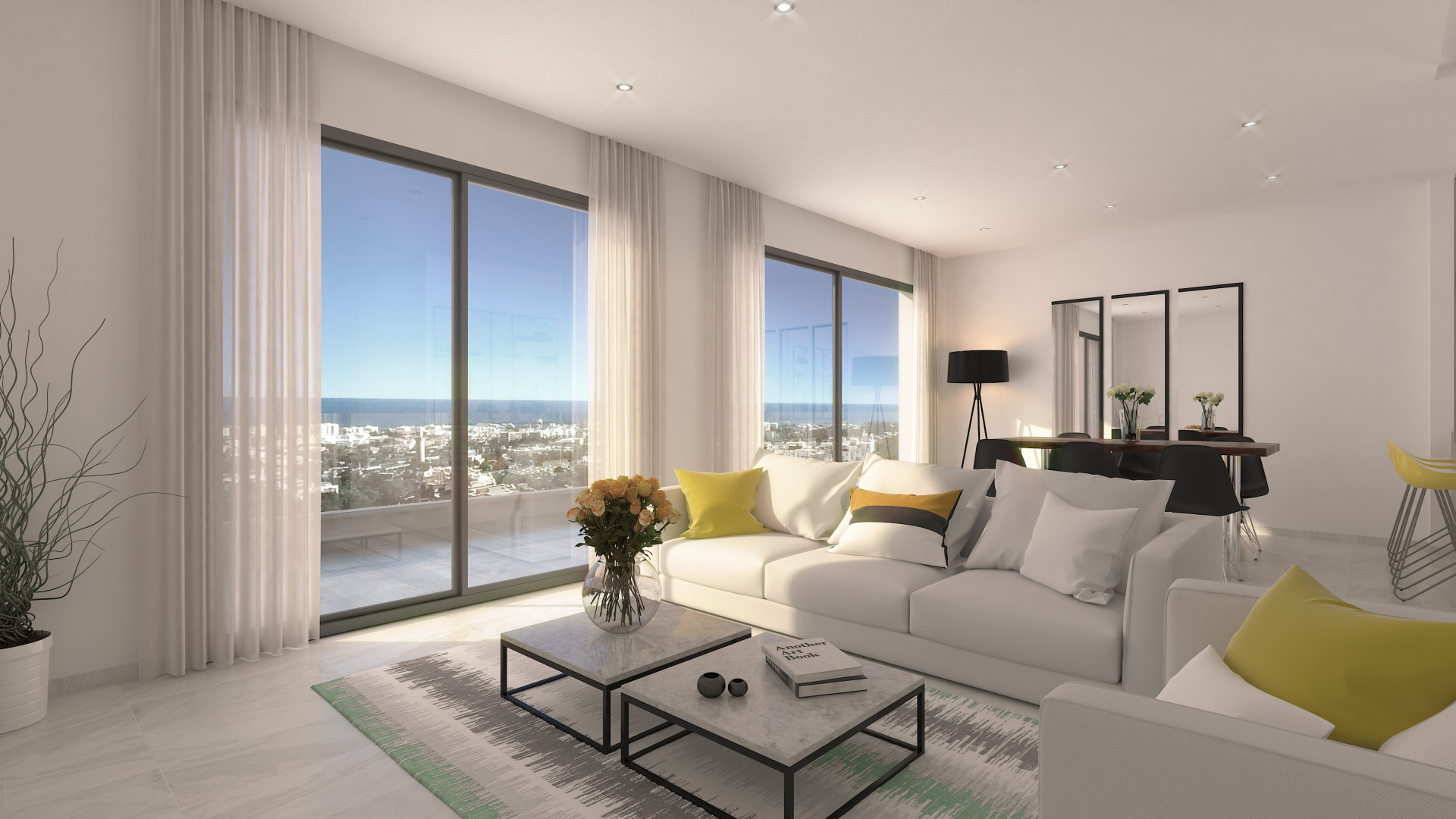 New project of contemporary apartments for sale in Marbella