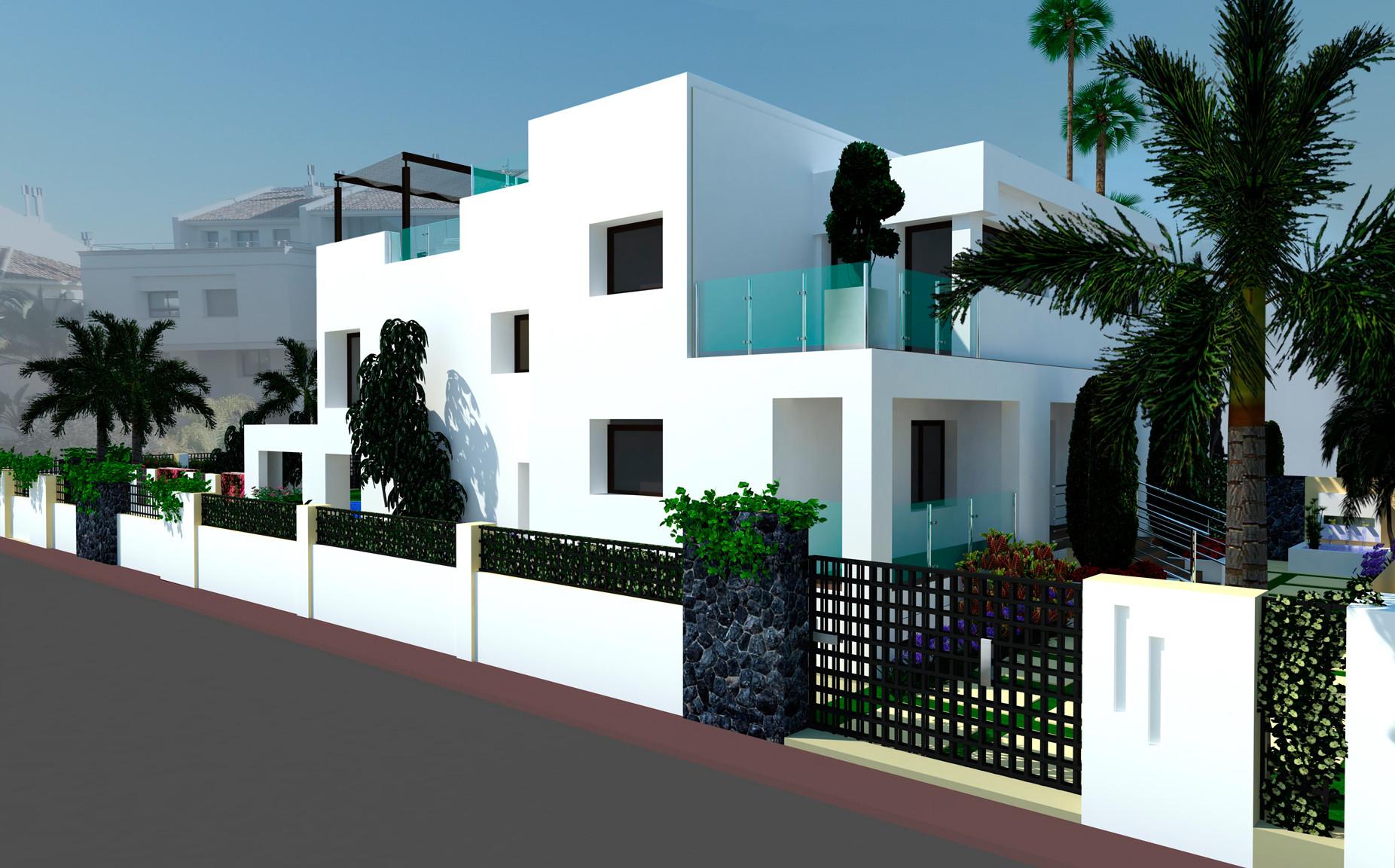 Eigentijdse villa te koop op de Golden Mile in Marbella