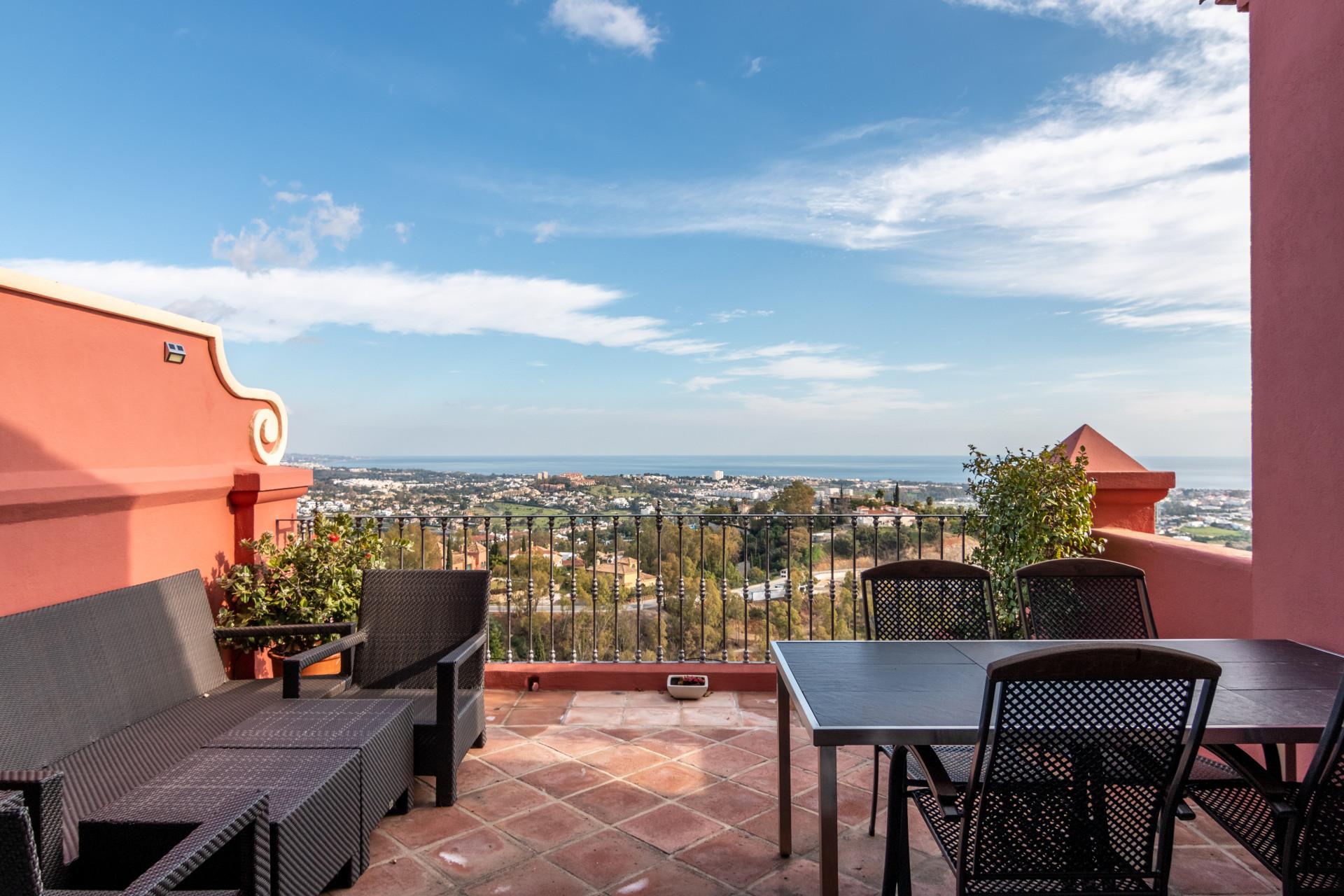 Immaculate duplex penthouse for sale in Torre Halcones - Benahavis – Marbella