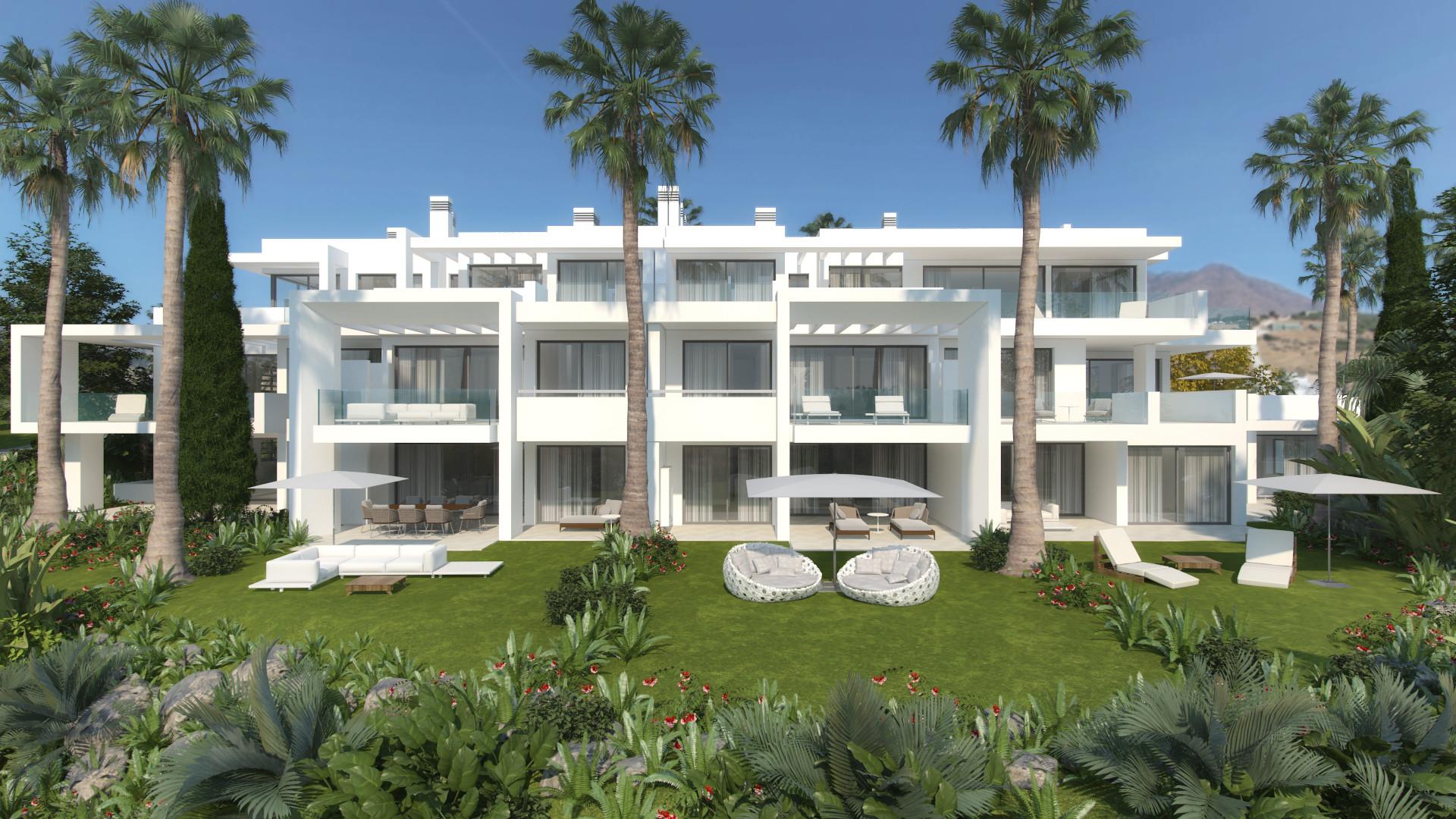 Beautiful contemporary apartment for sale in Casares – Estepona West