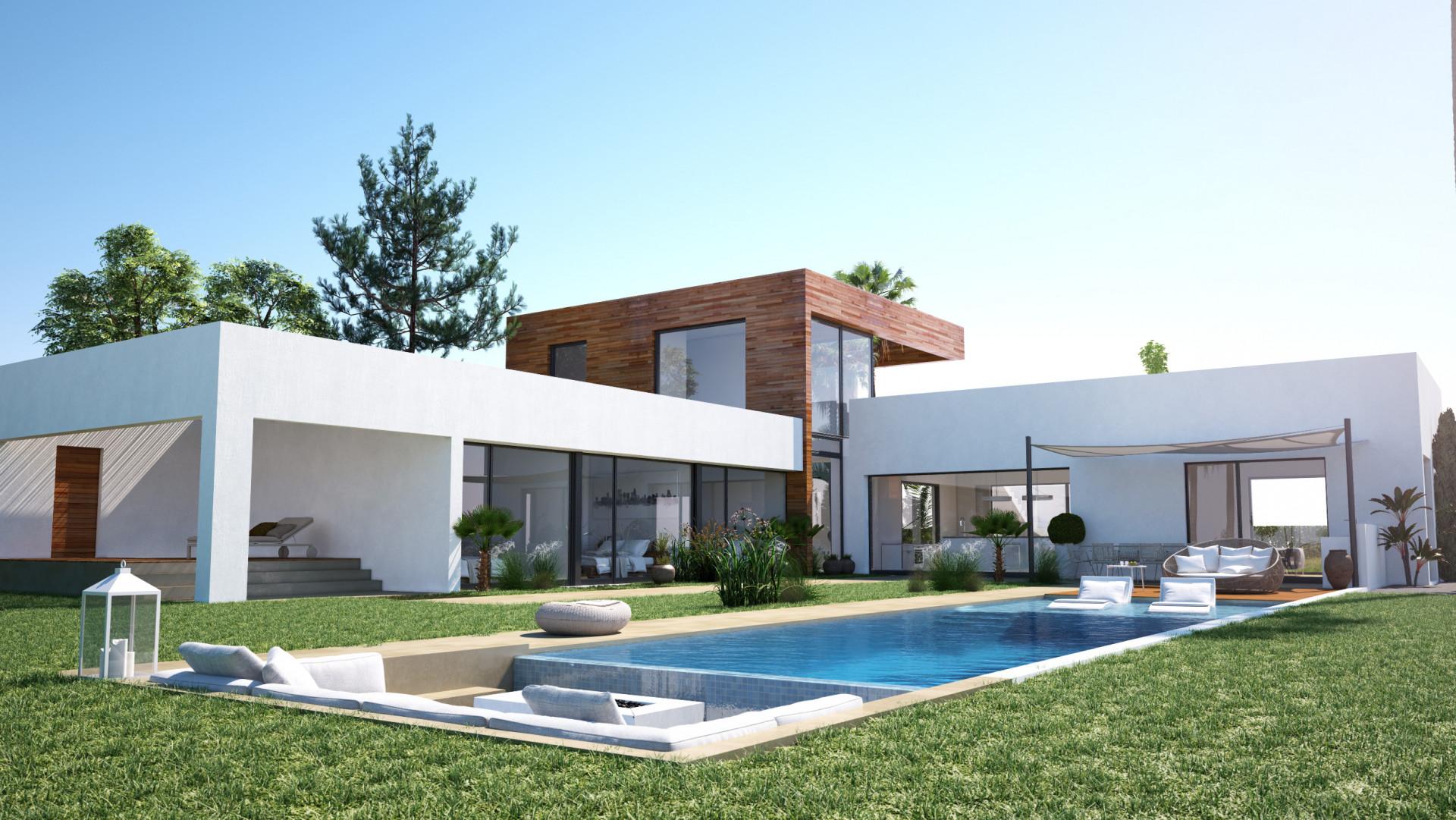 Brand new modern villa for sale in Altos de los Monteros – Marbella