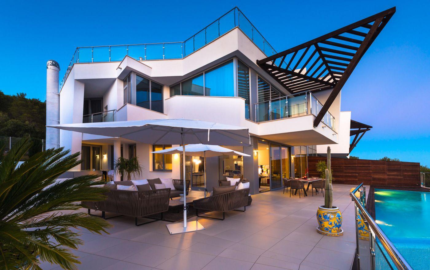 Casas adosadas modernas a la venta en Marbella - Sierra Blanca
