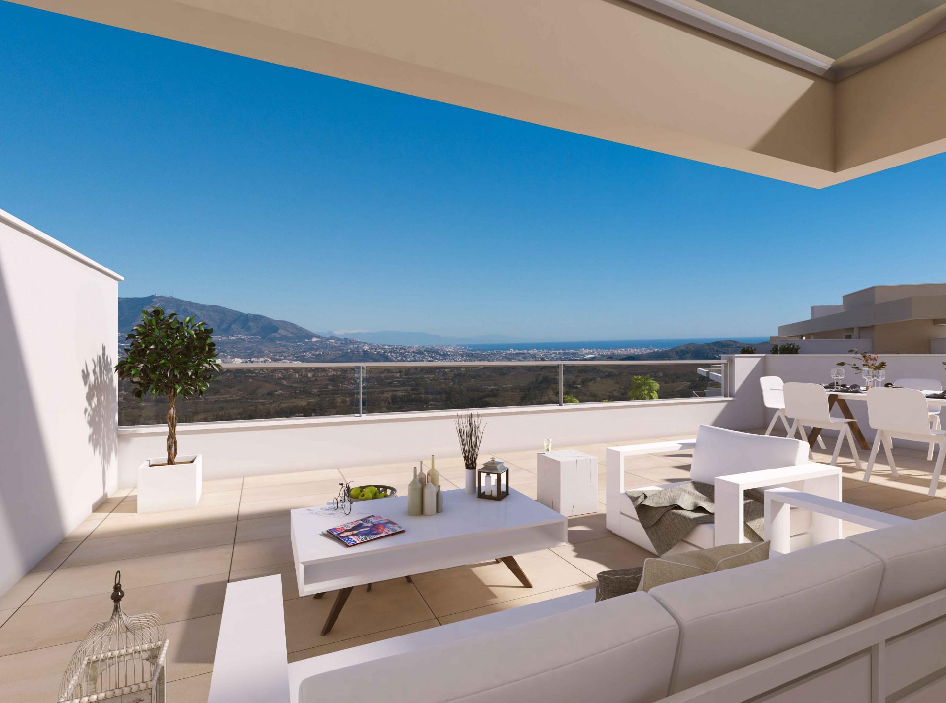 Nieuw project van moderne appartementen en penthouses te koop in La Cala Golf