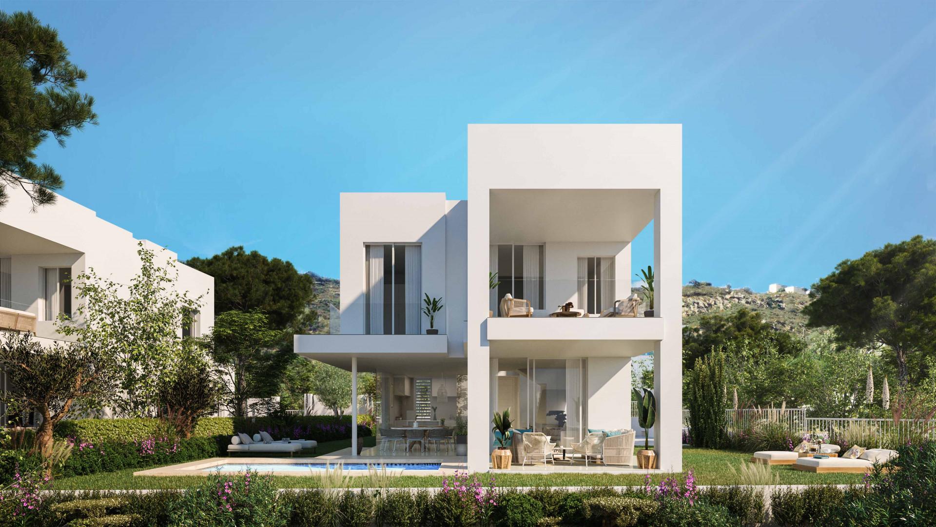 New contemporary style detached villa for sale in Manilva