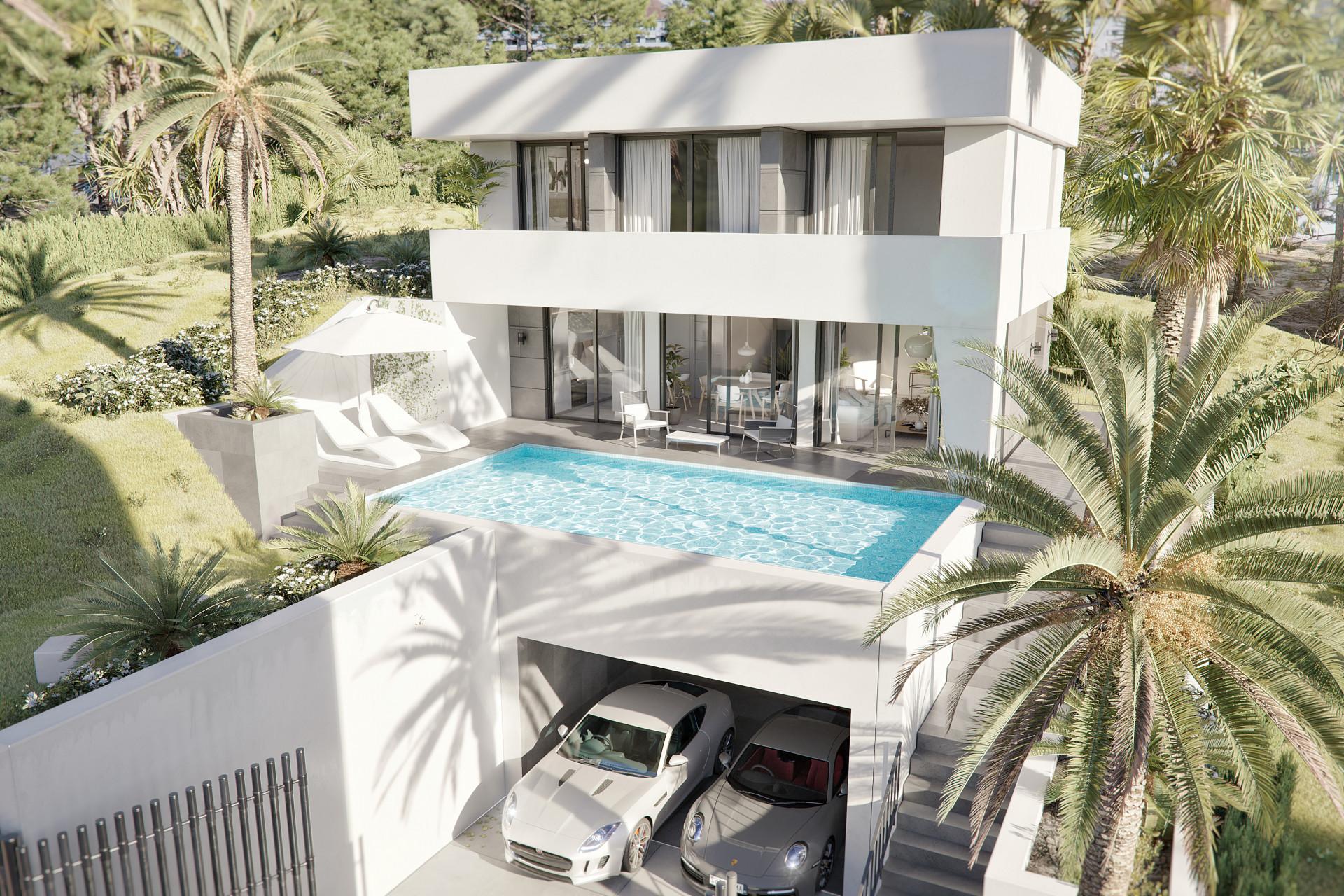 Brand new modern villa in Benalmádena Costa for sale– Benalmádena