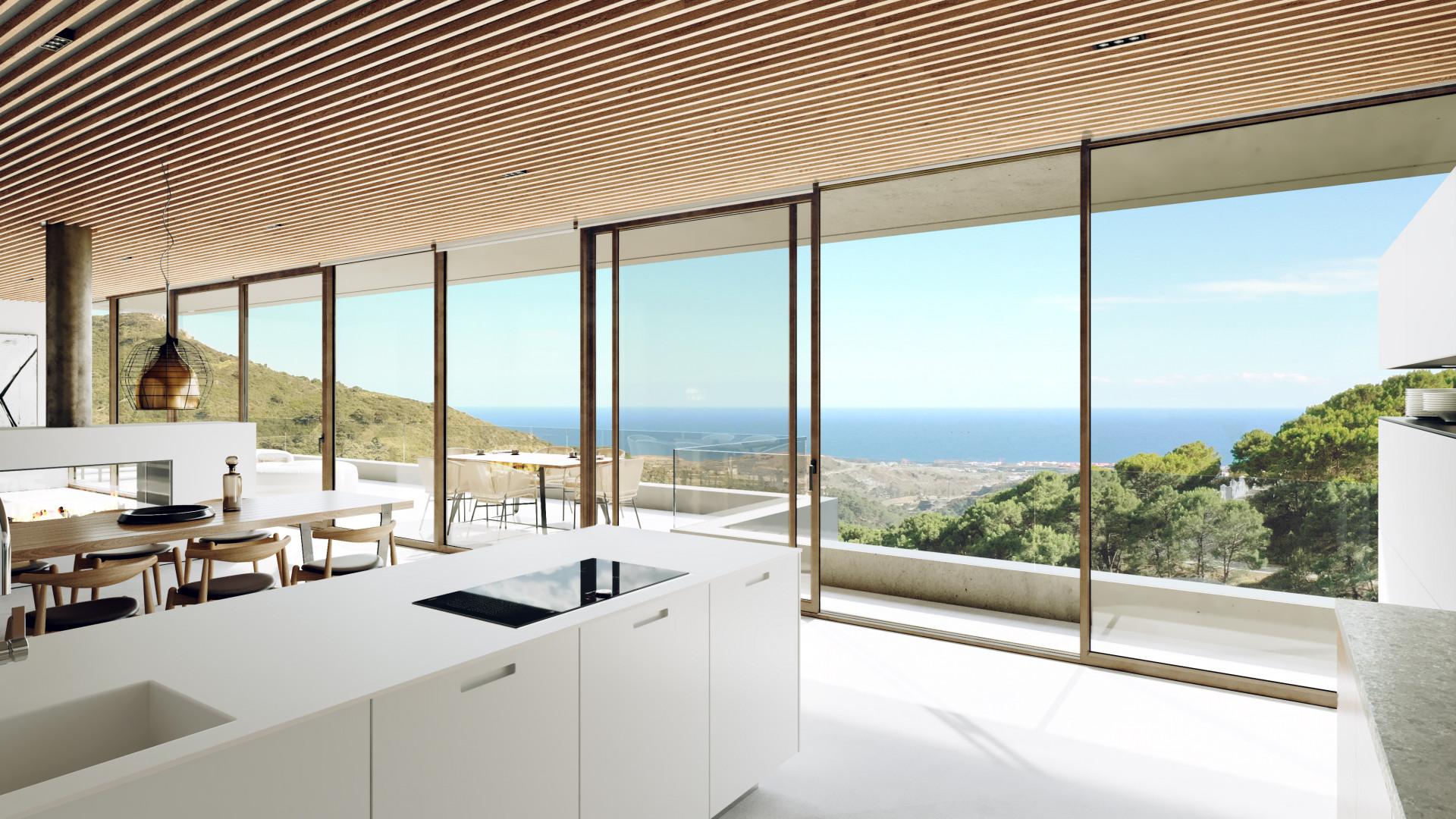 Modern detached mansion for sale in Montemayor – Benahavis