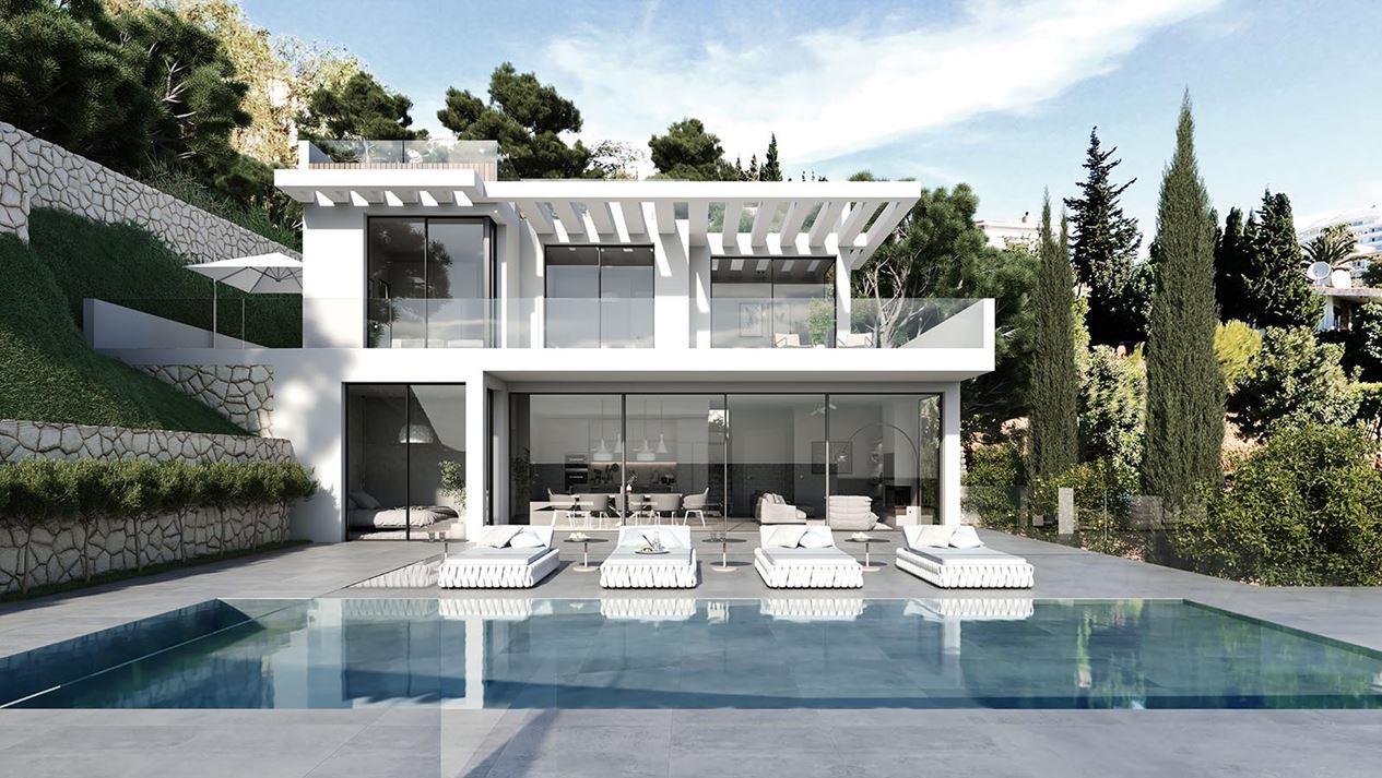 Prachtige moderne vrijstaande villa te koop in Torreblanca – Fuengirola