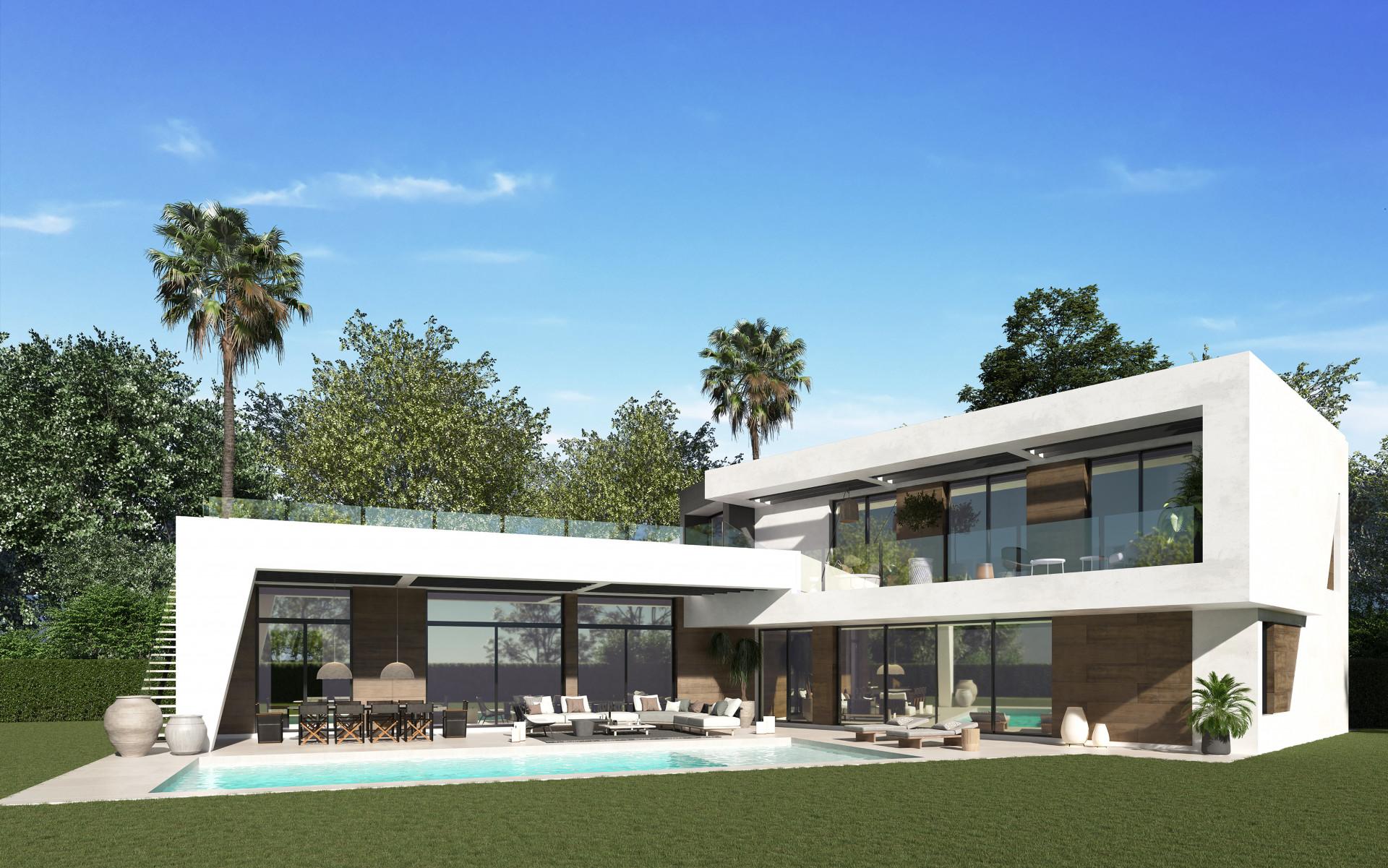 Off plan moderne villa te koop in Guadalmina Baja - San Pedro – Marbella