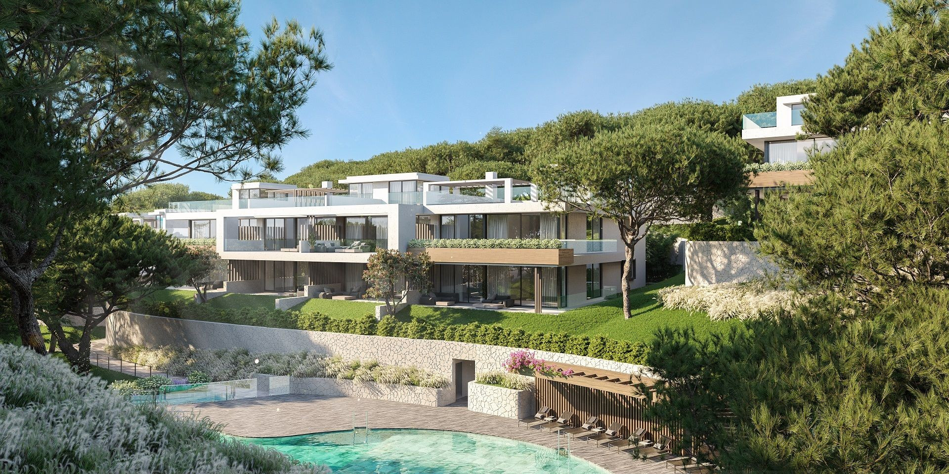 A Boutique Development of Luxury Apartments & Penthouses Nestled in the Pine Trees of Cabopino.