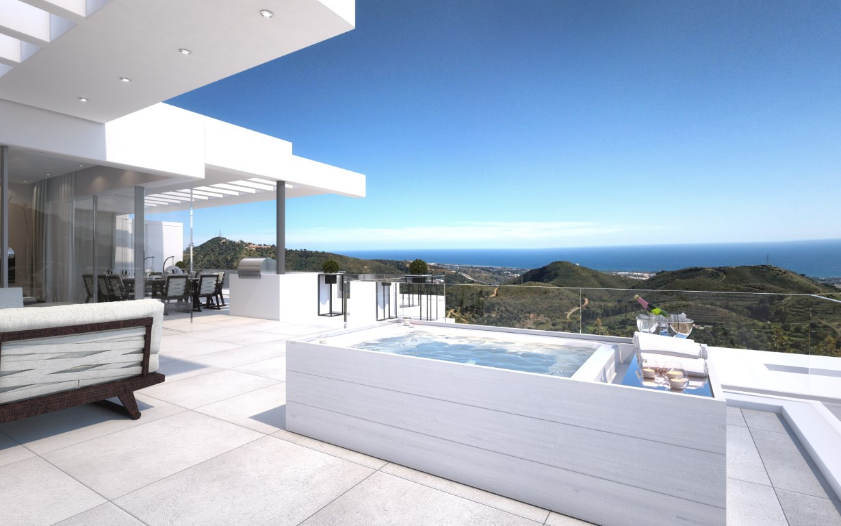 New Modern Apartments And Penthouses For Sale In The Hills Of Ojen, Marbella