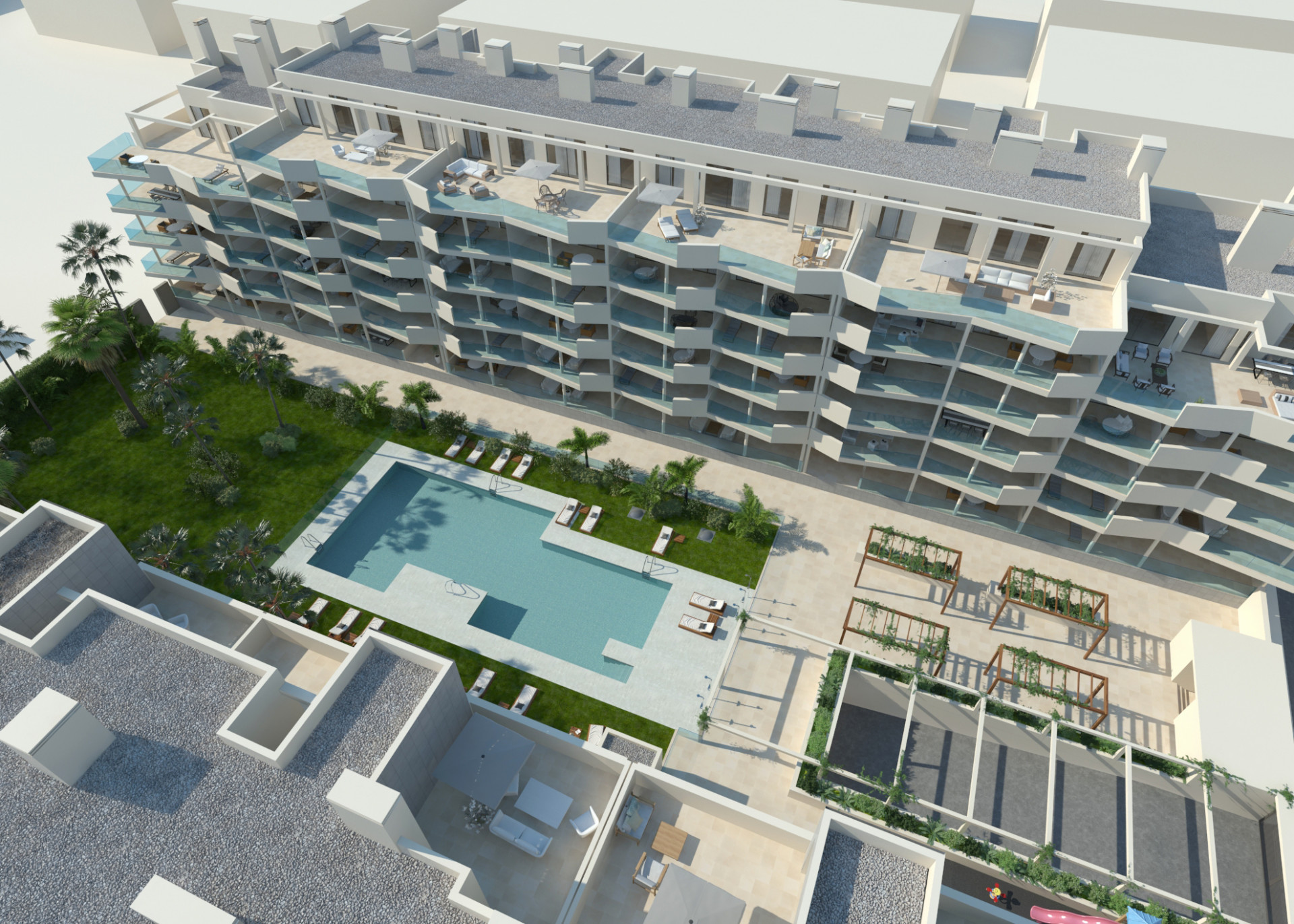 A new off plan of apartments and penthouses for sale in Mijas Costa