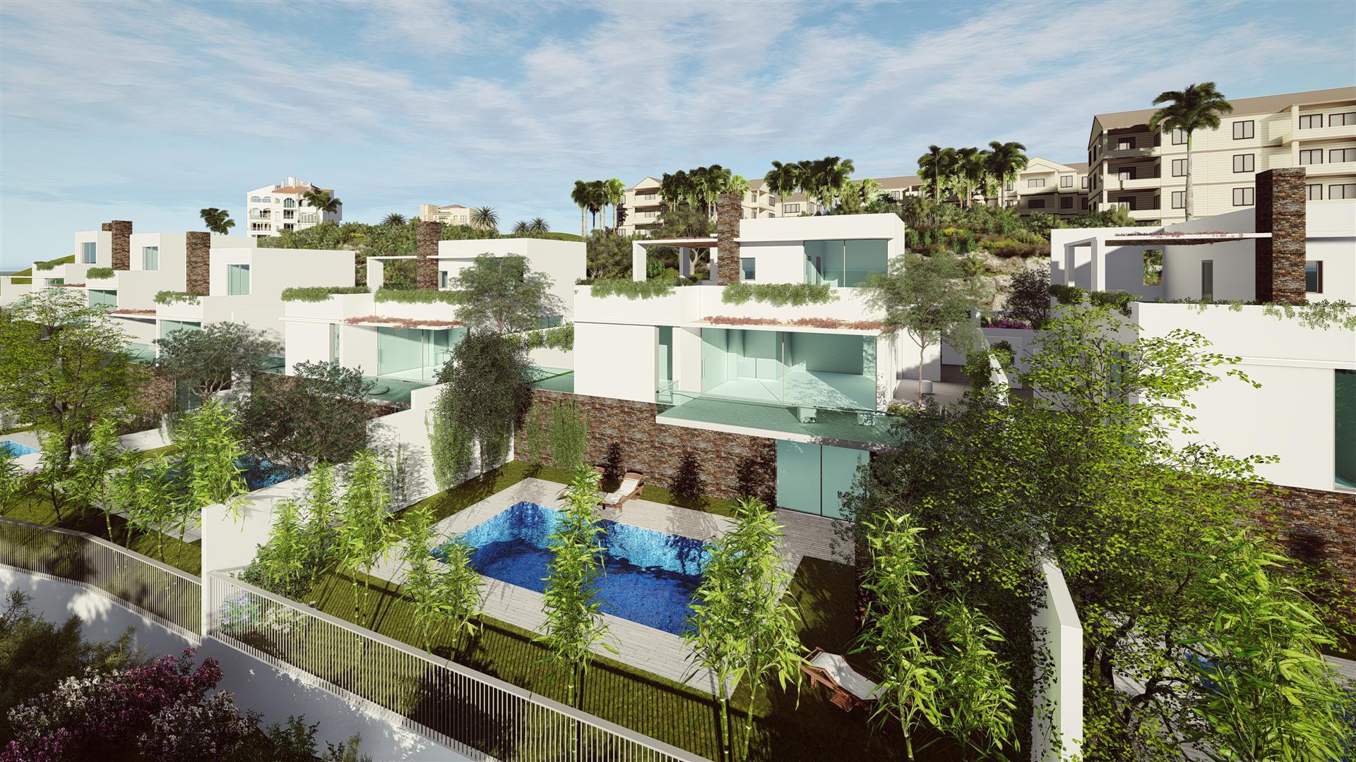 "Modern 4 bedrooms villas  located in the urbanization of ""La Cala Hills"" in Mijas"