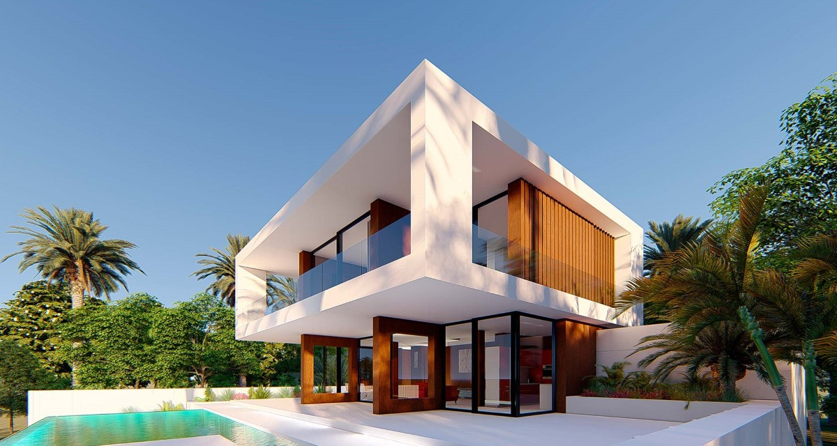Elegantly Modern Villa For Sale With Sea Views In Estepona