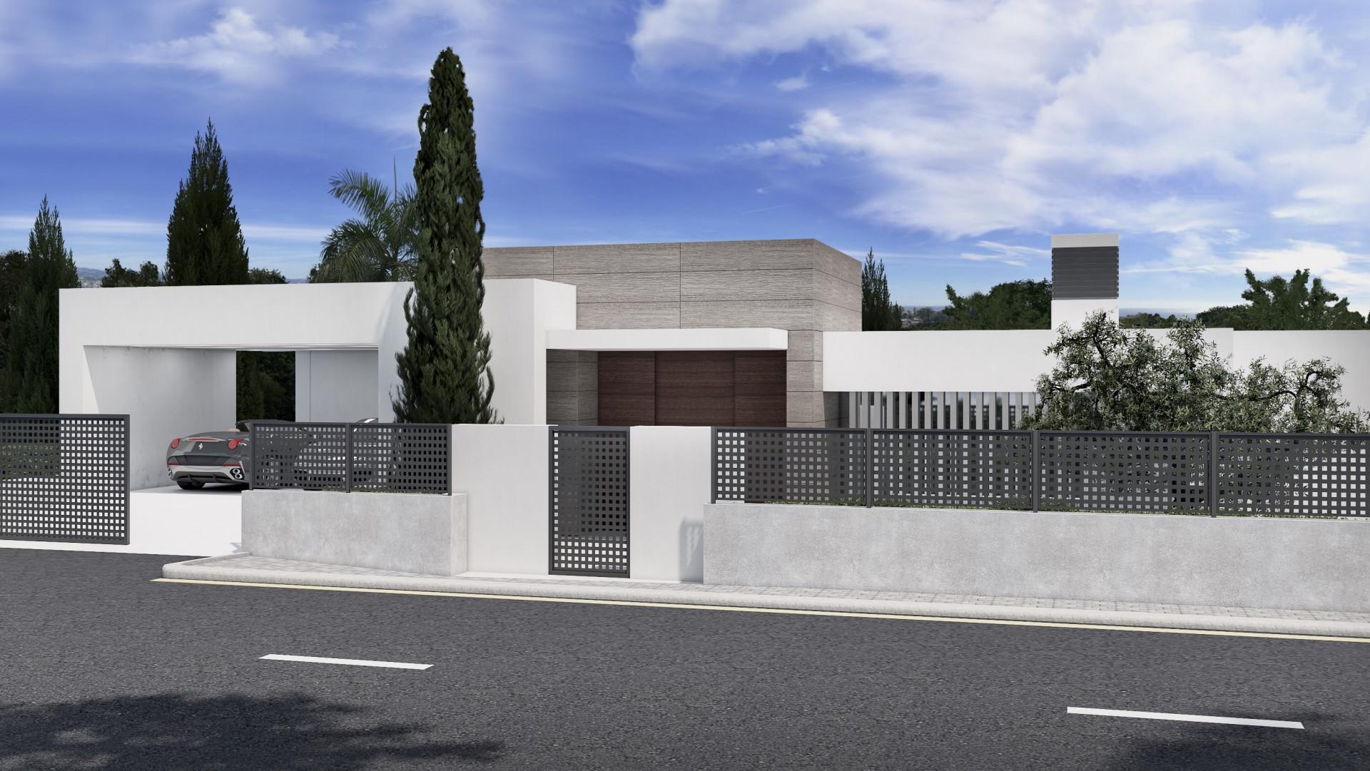 LIGHT BLUE VILLAS. VILLAS MODERNAS DE LUJO DE NUEVA CONSTRUCCIÓN EN EL PARAÍSO, ESTEPONA