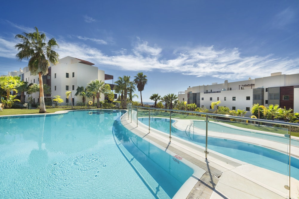 Quality golf apartment with stunning views of the golf course and Mediterranean Sea