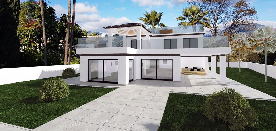Villa en venta en Brisas del Golf, Nueva Andalucia