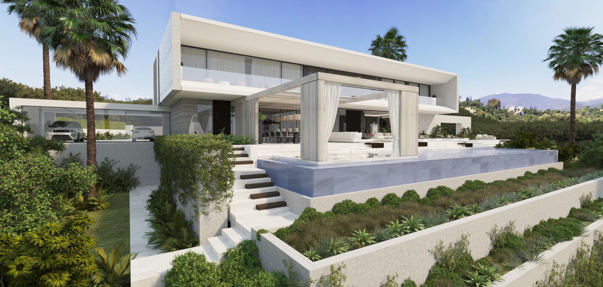 Villa en venta en El Madroñal, Benahavis