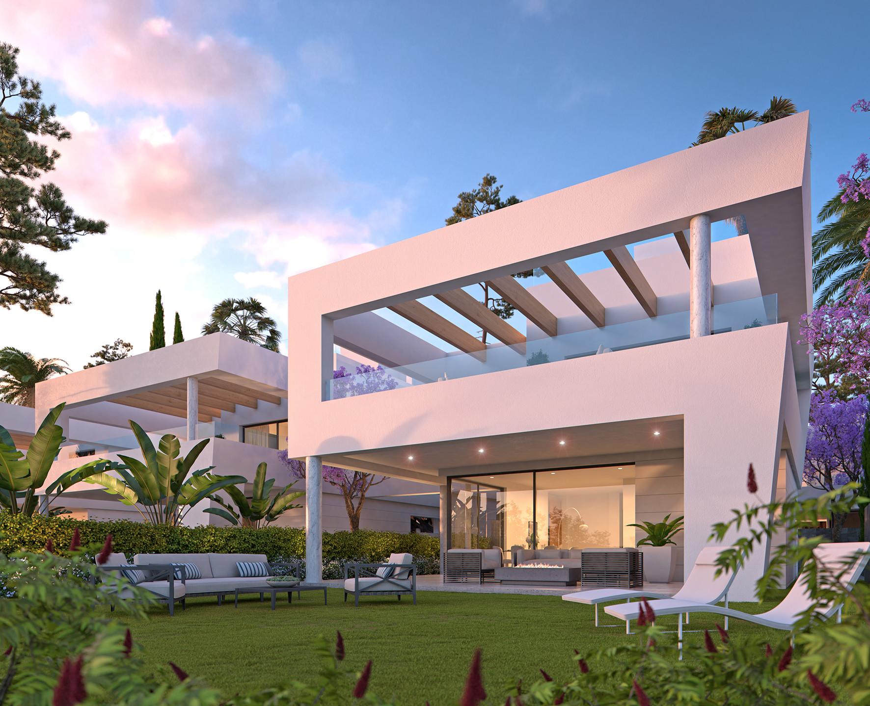 ARFV1854 - Moderne fertige Neubau Villen zu verkaufen in San Pedro de Alcantara bei Marbella