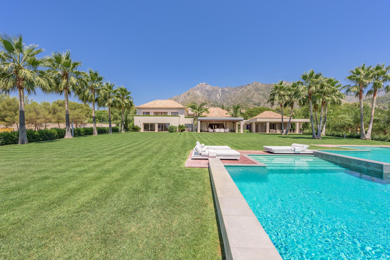 ARFV1971 - Prachtvolle Villa zu verkaufen  in Quinta de Sierra Blanca in Marbella auf der Goldenen Meile