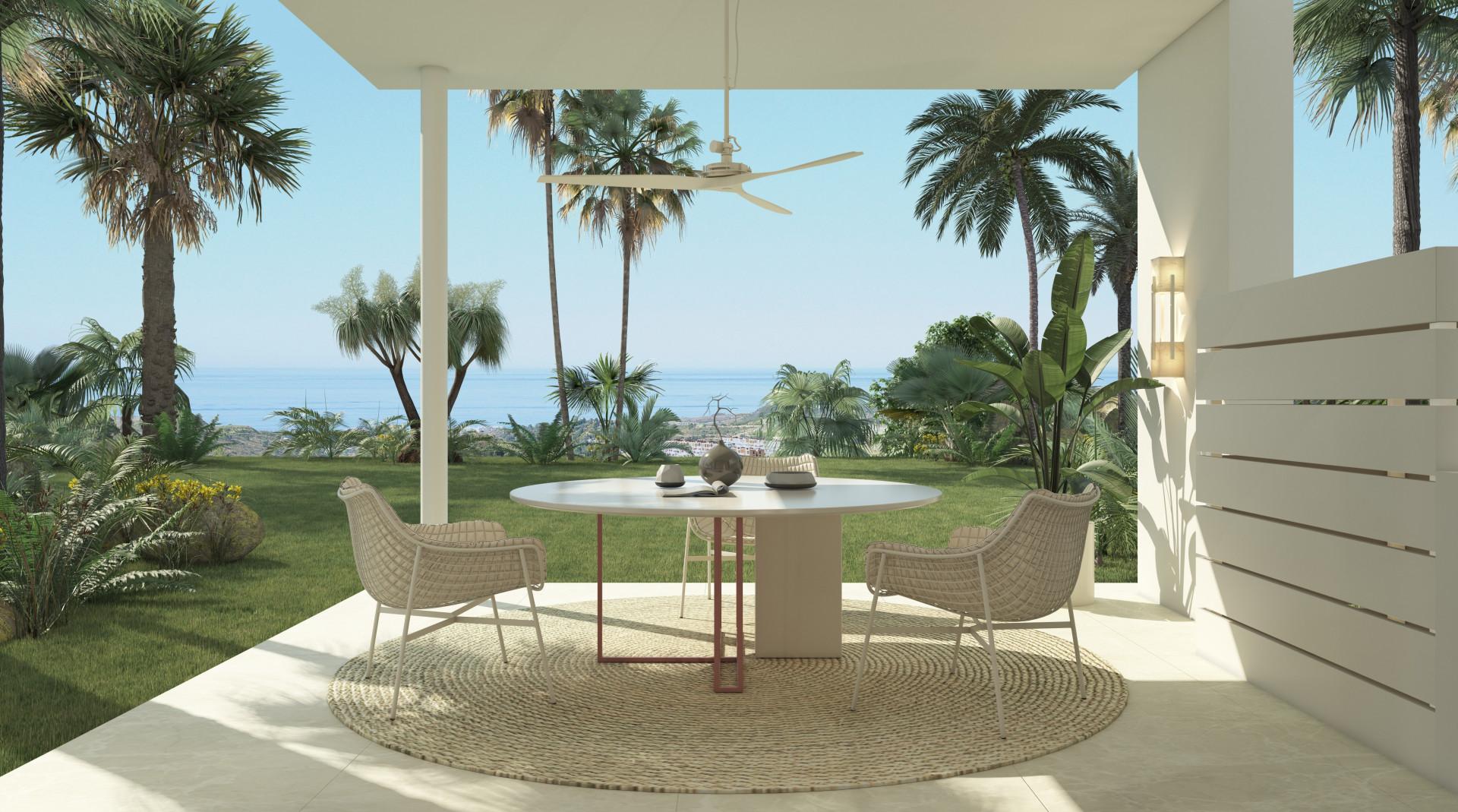 ARFA1219 - Neubau Wohnungen mit unglaublichem Meerblick zu verkaufen bei Benahavis