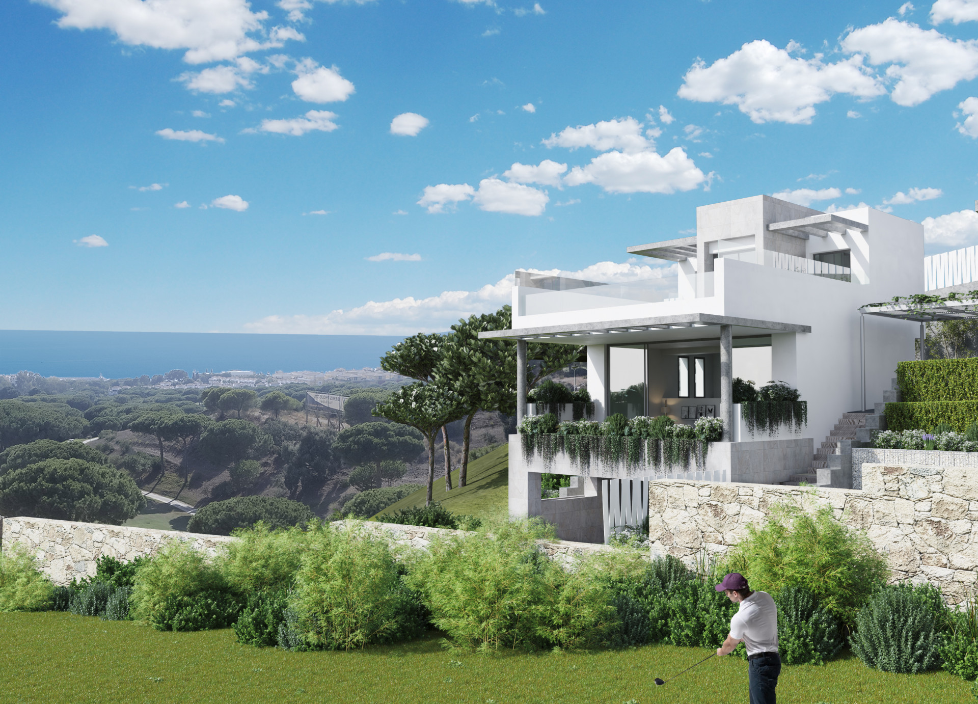 ARFTH127 - 23 Townhäuser und 2 Villen zum Verkauf in Cabopino in Marbella