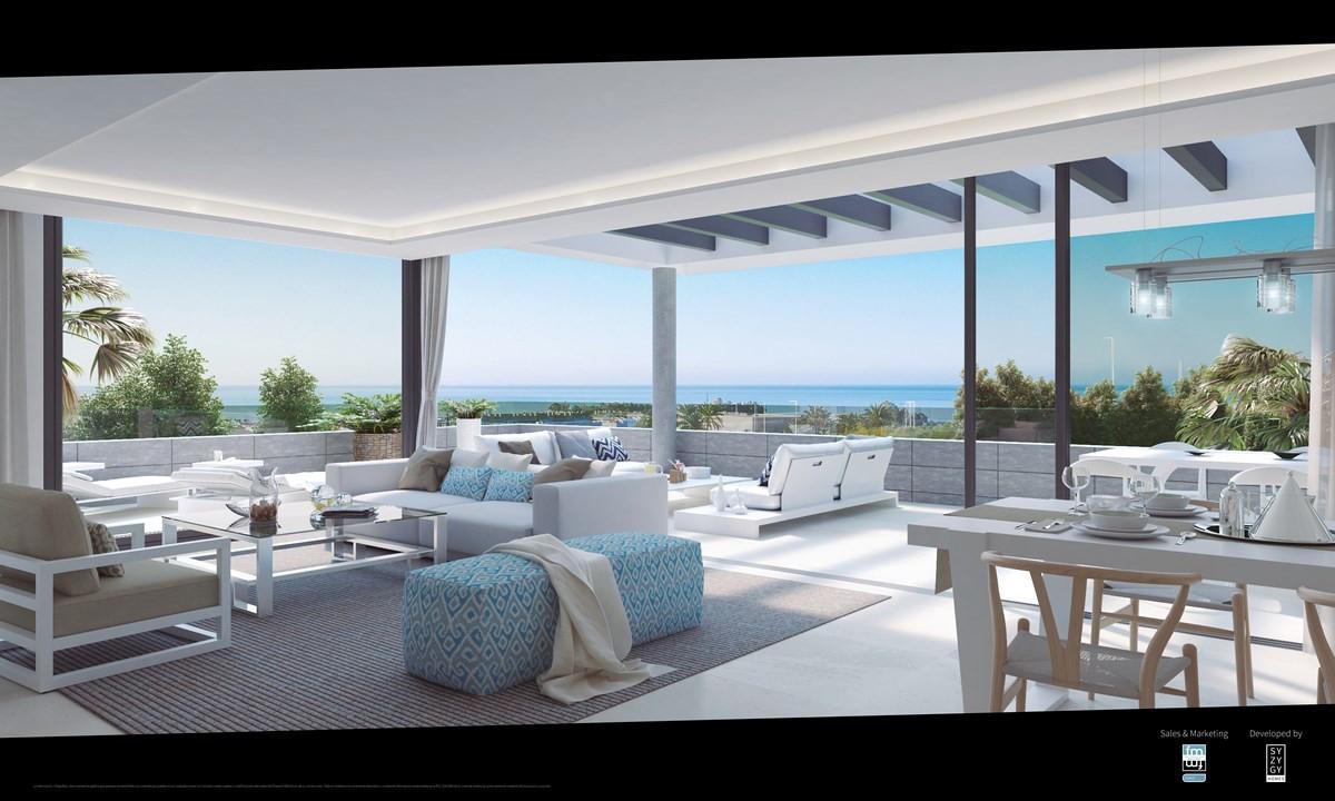 ARFA1122 - Neubauwohnungen mit Meerblick in Strand und Stadtnähe bei Cancelada in Estepona