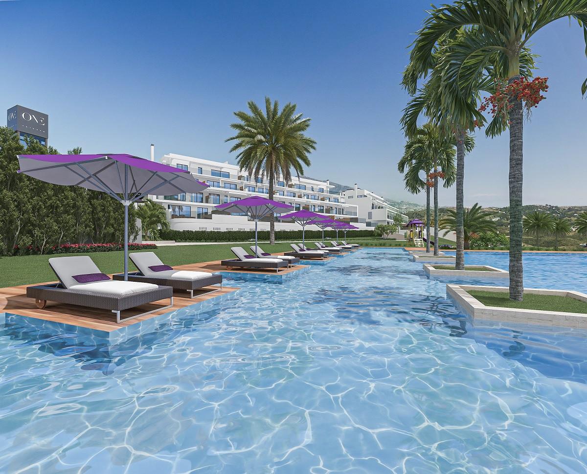 Nieuwbouwproject voor appartementen met zicht op zee in Mijas