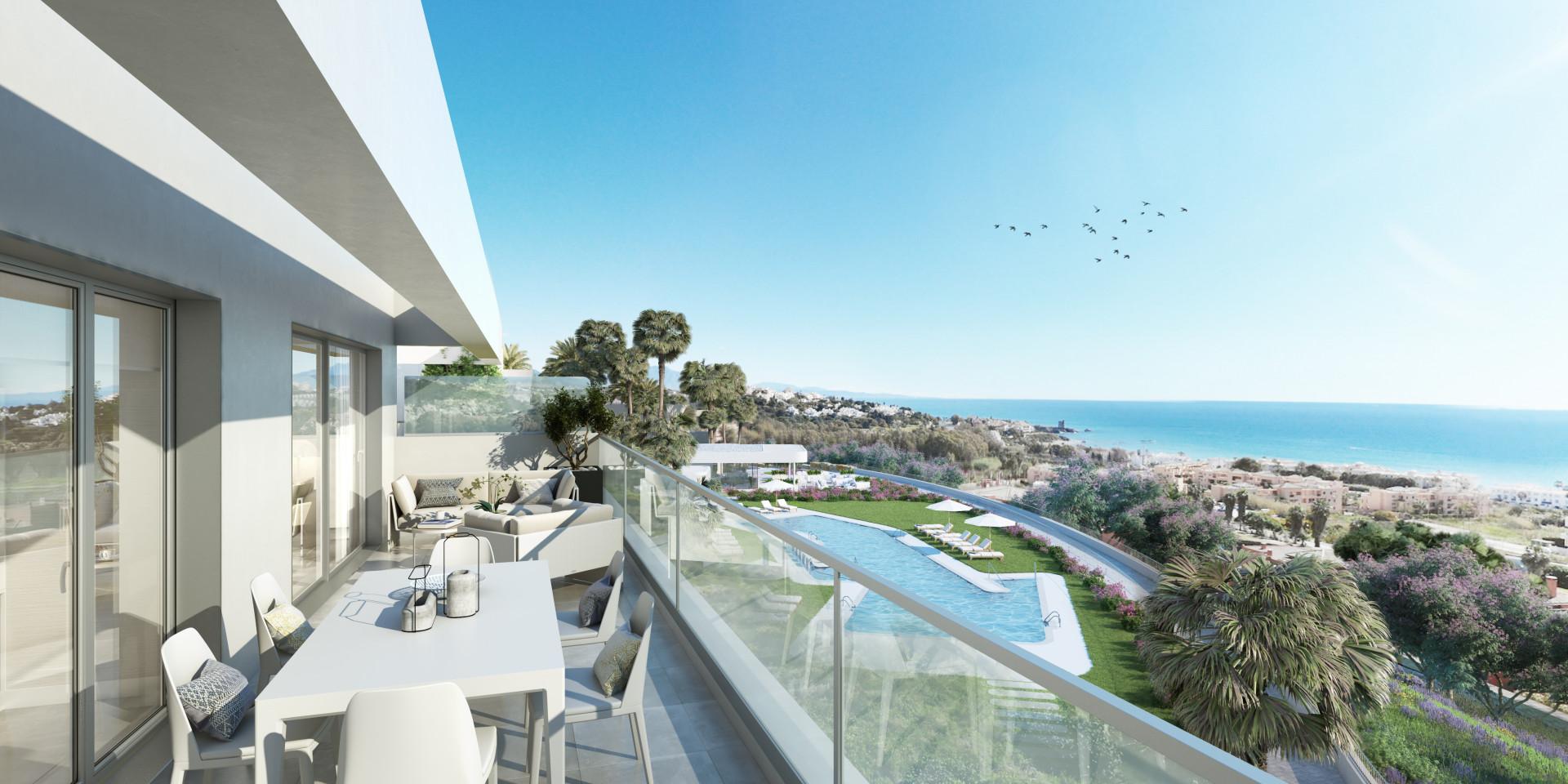 ARFA1316 - Moderne strandnahe Wohnungen in Sabinillas zu verkaufen