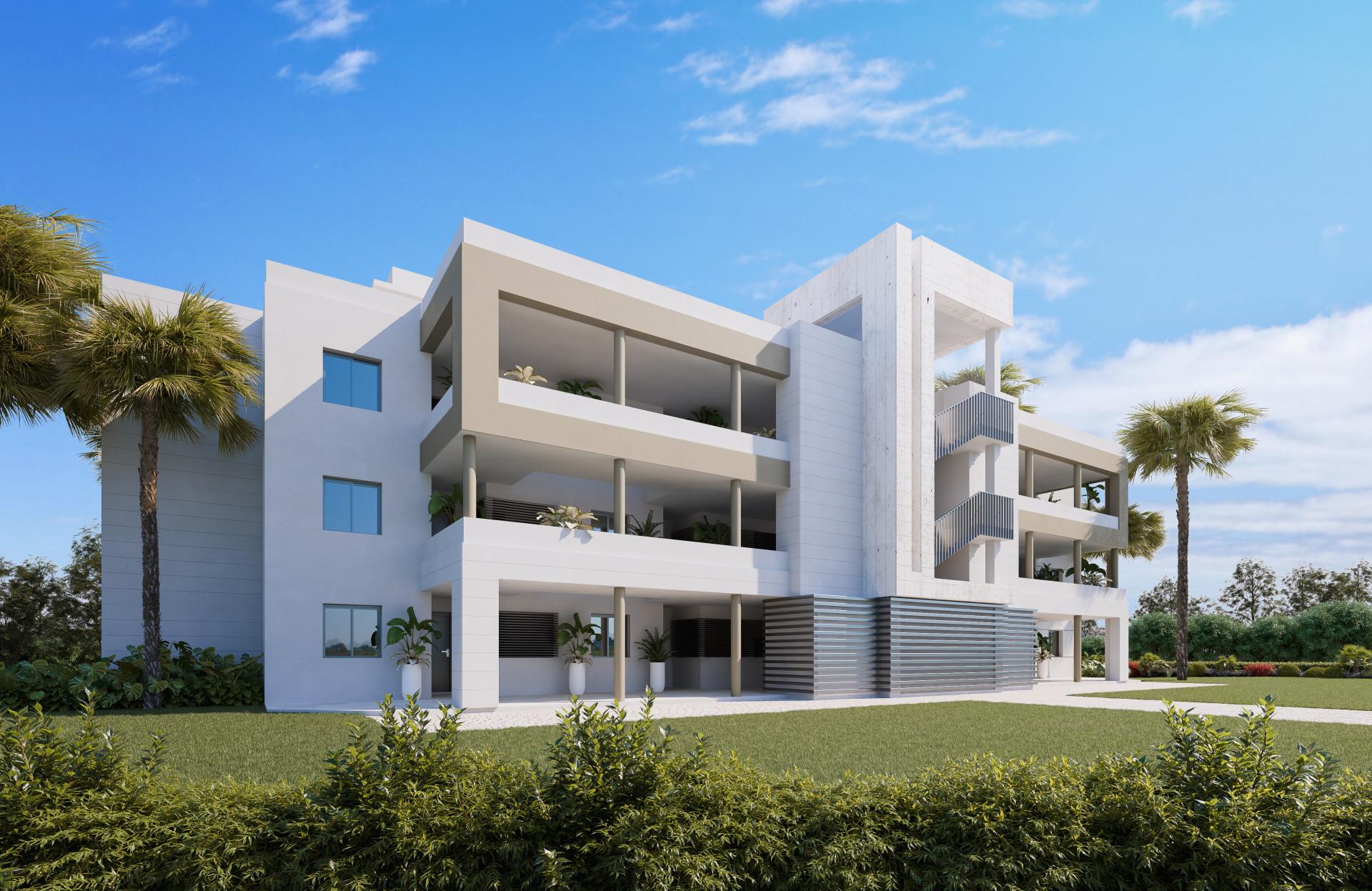 Project voor nieuwbouwappartementen in Mijas