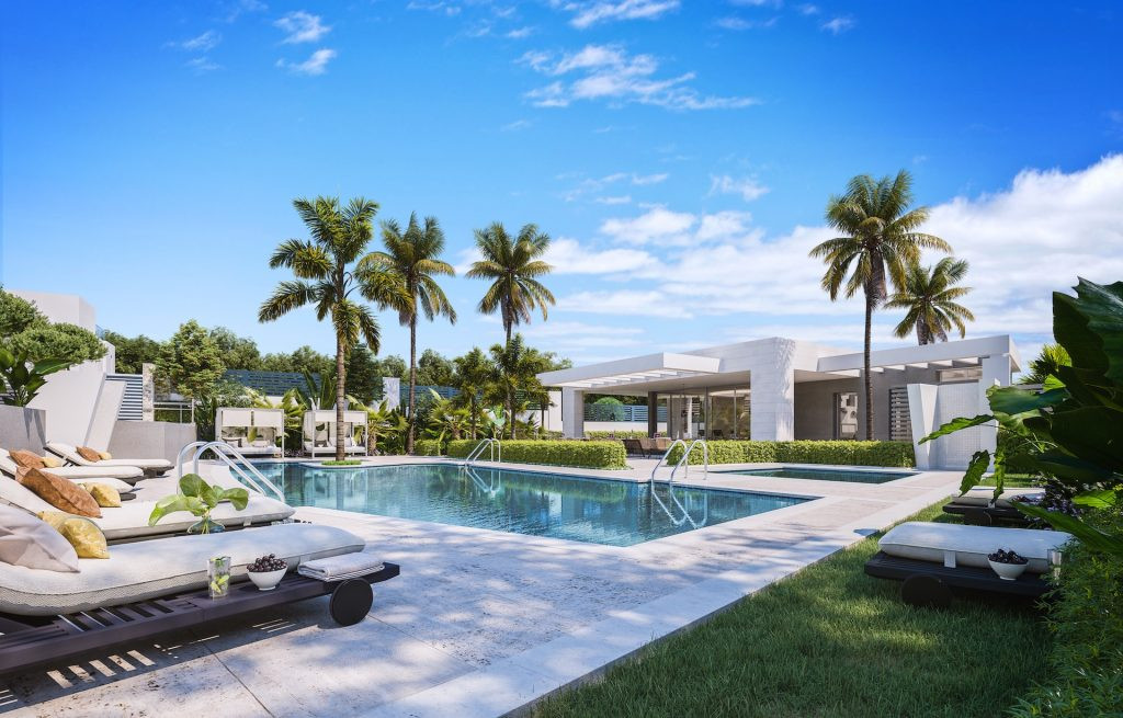 ARFV2160 - Neues Projekt von 23 exklusiven Häusern zum Verkauf in Guadalmina Alta