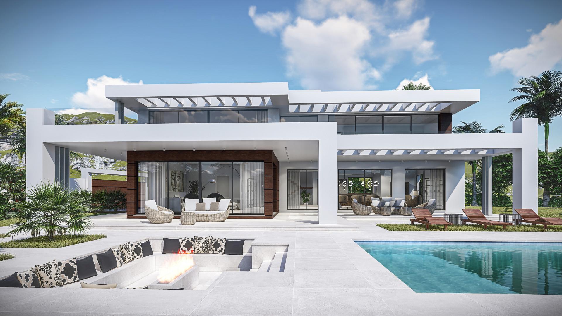 ARFV2138 - Luxus Villenprojekt zur Komplettrenovierung in Hacienda Las Chapas in Marbella