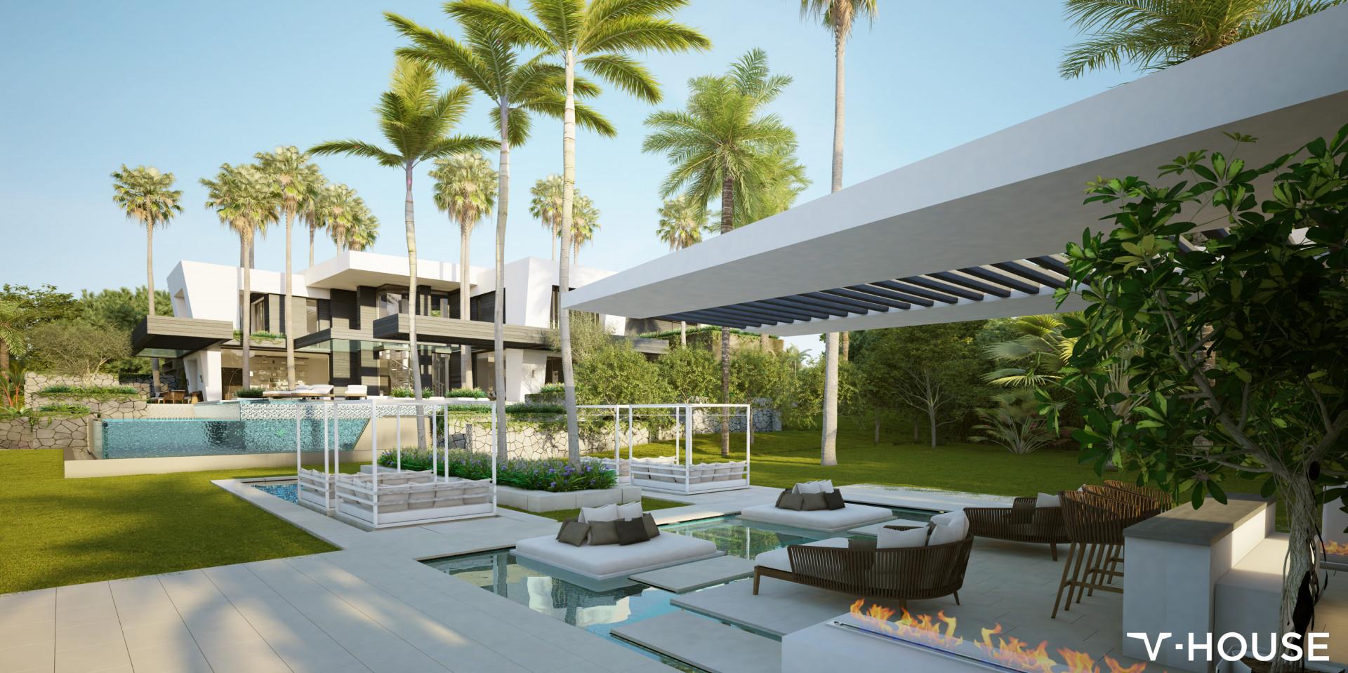 ARFP466 - Grundstück und Projekt mit Lizenz zum Verkauf in Cascada de Camojan in Marbella
