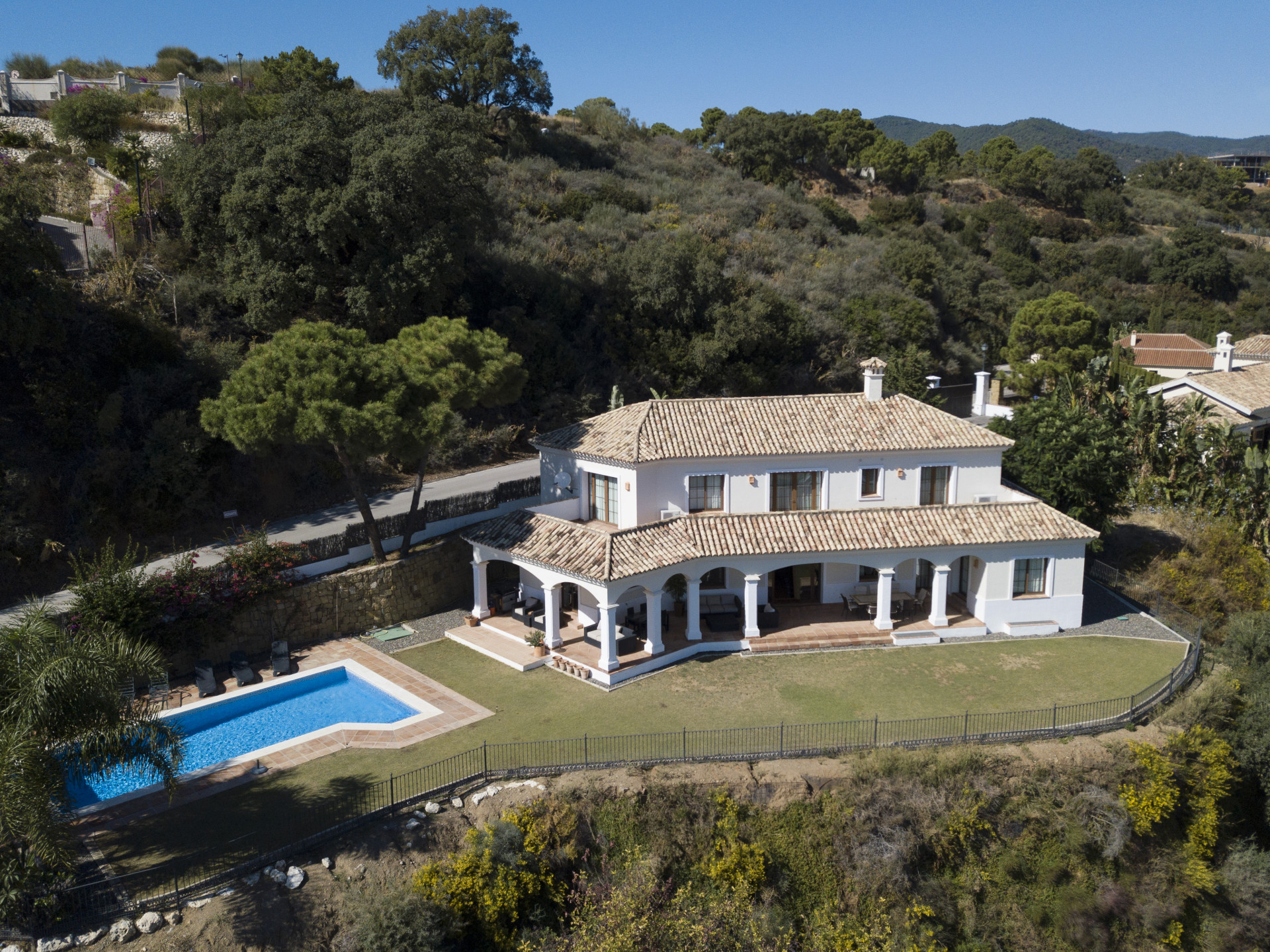 Villa met authentiek karakter in Benahavis