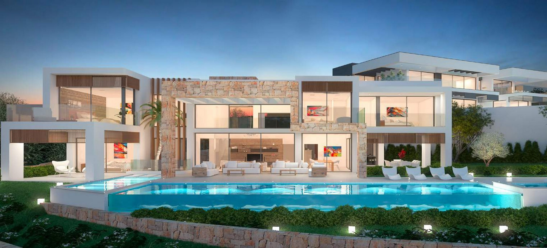 ARFV1982 - Modern Neubauvilla  zu verkaufen in La Cerquilla in  Nueva Andalucia