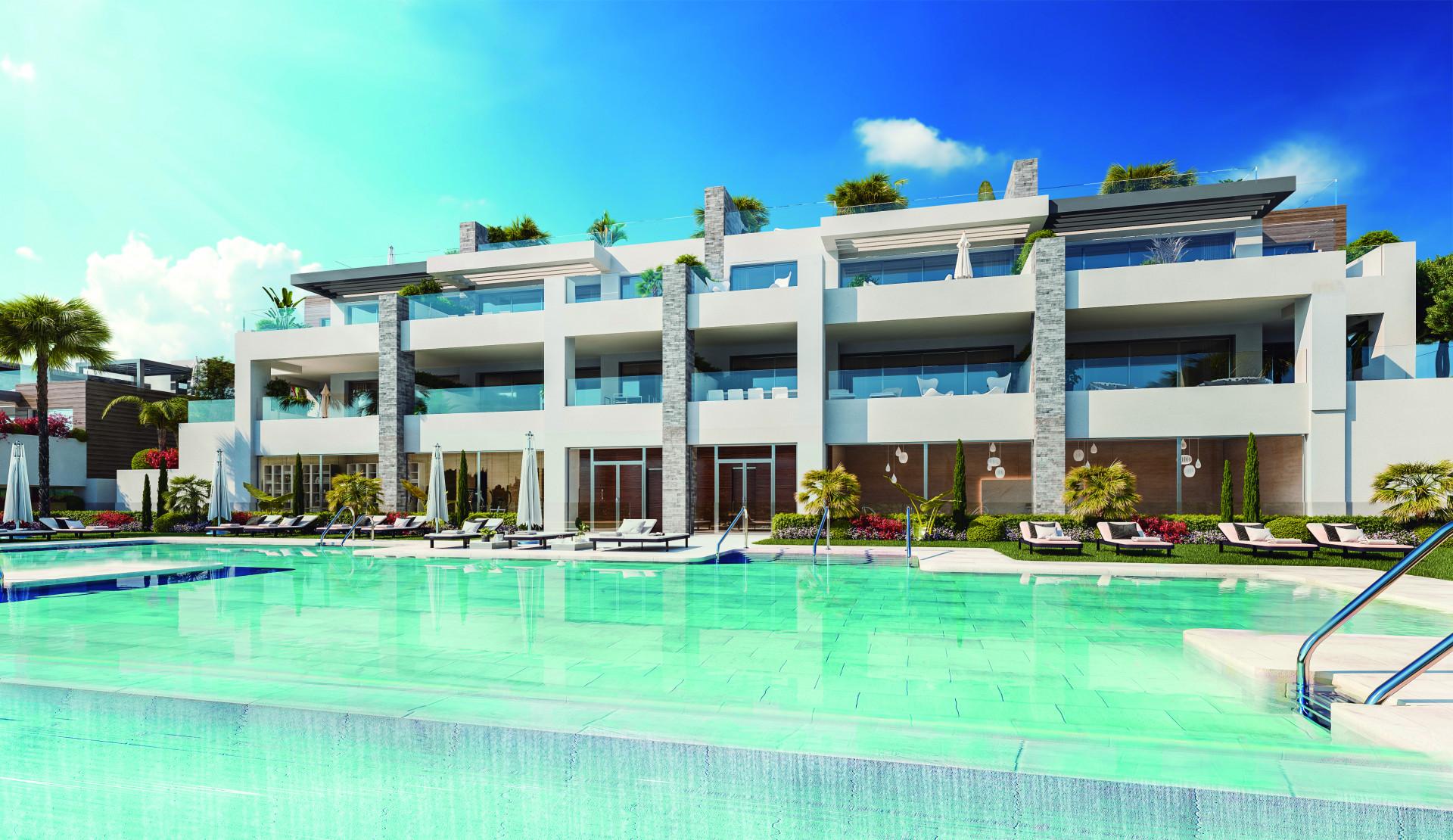 ARFA1324 - Neubauprojekt für Wohnungen in Artola Alta in Marbella
