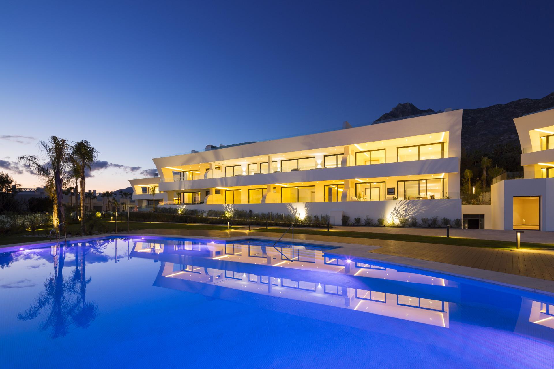 ARFA1286 - 20 neue Luxus Wohnungen zu verkaufen auf der Goldenen Meile in Marbella