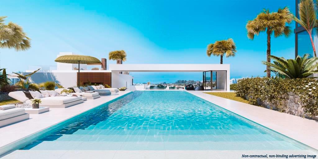 ARFTH172 - Townhouses zum Verkauf in Rio Real in Marbella mit Panoramasicht