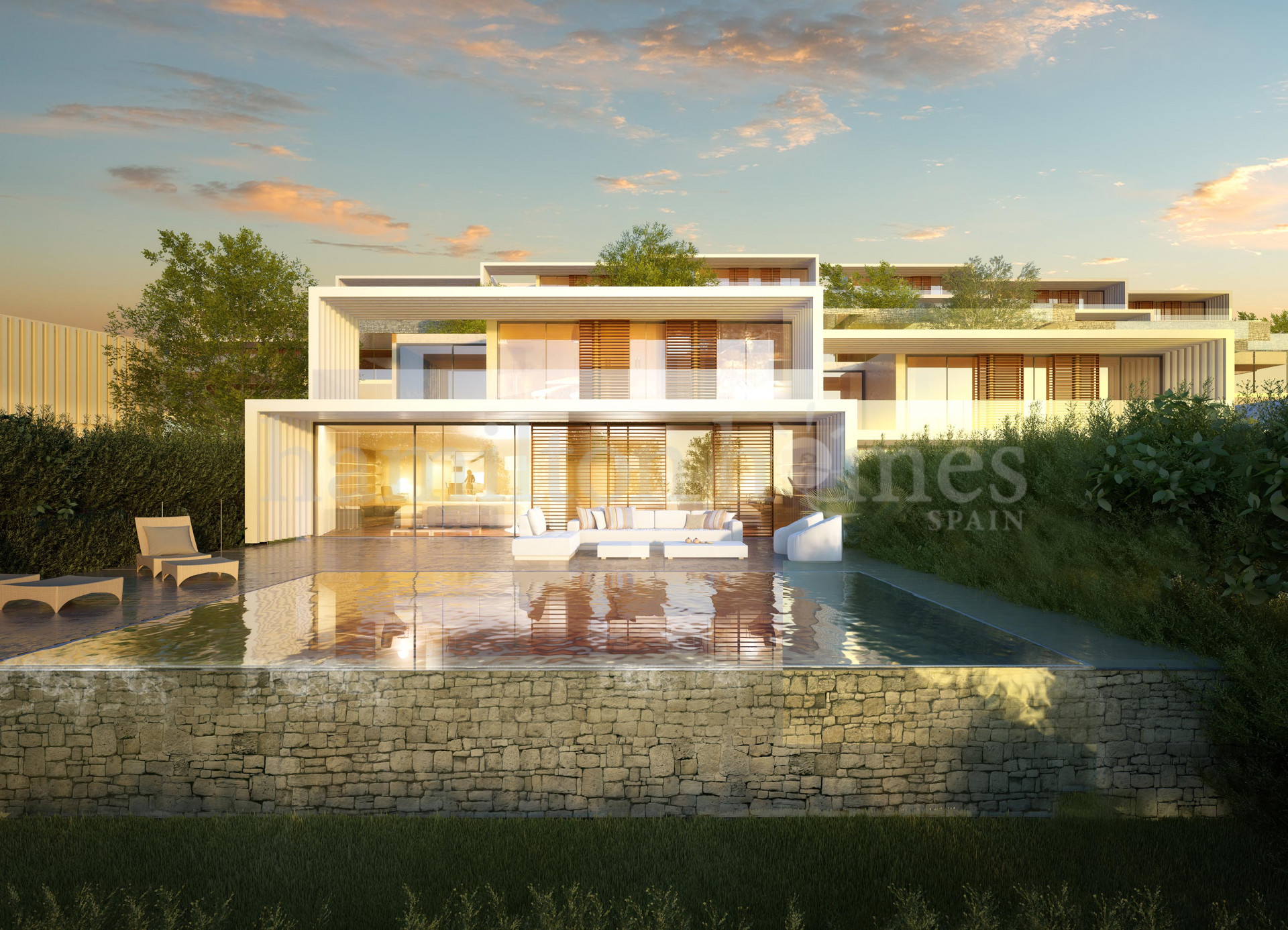 Development in La Reserva, Sotogrande