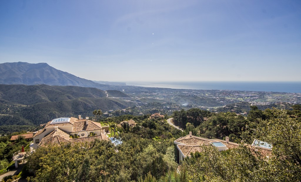 Panoramic Sea Views and Every Convenience Can Be Found at This Stunning and Prestigious Villa on the Costa del Sol