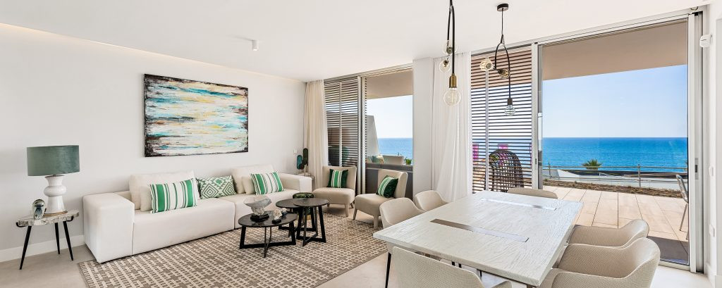 Exquisite Front-line Beach Apartments For Sale In Estepona