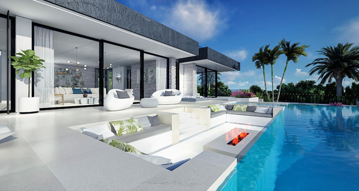 Beautifully Designed Modern Luxury Villa For Sale Situated in Benahavis