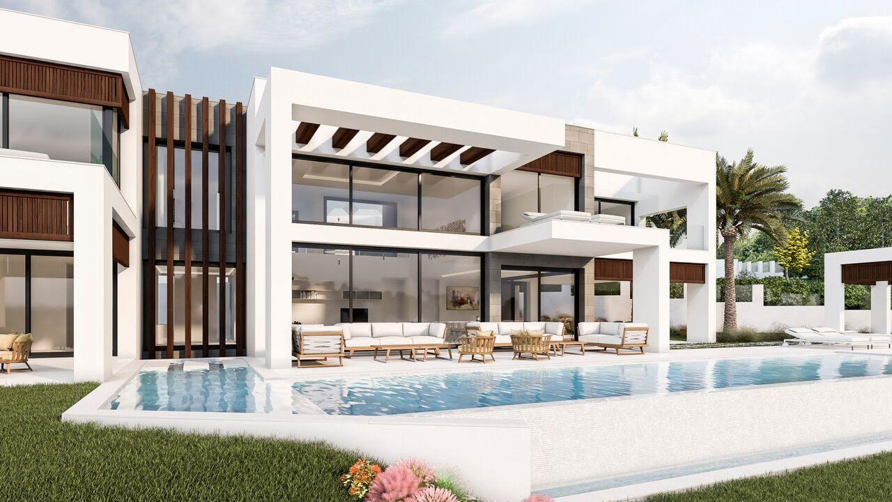 Fantastic Brand New Contemporary Villa For Sale In Nueva Andalucia