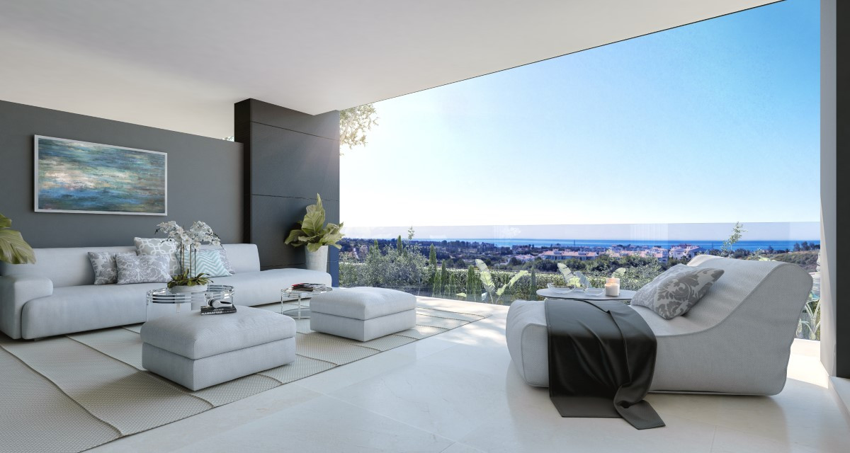 New Golden Mile Contemporary Apartment For Sale in Estepona
