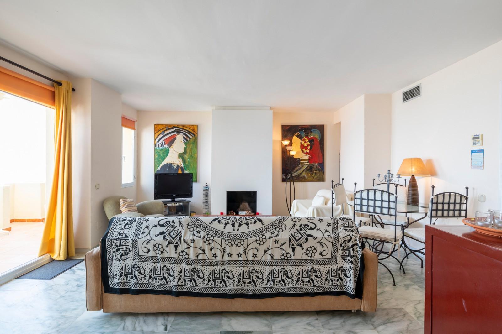 Duplex penthouse front line beach in Estepona