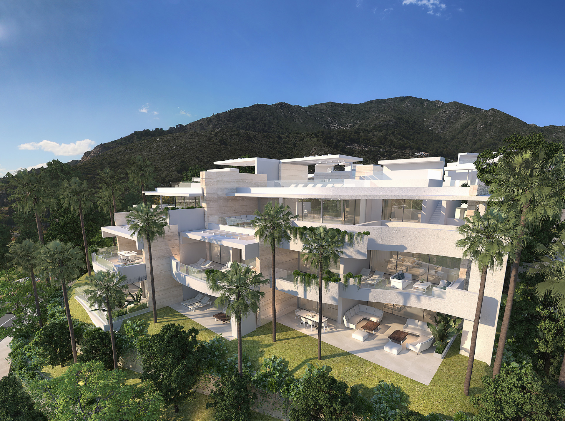 Modern apartment with sea views in Marbella