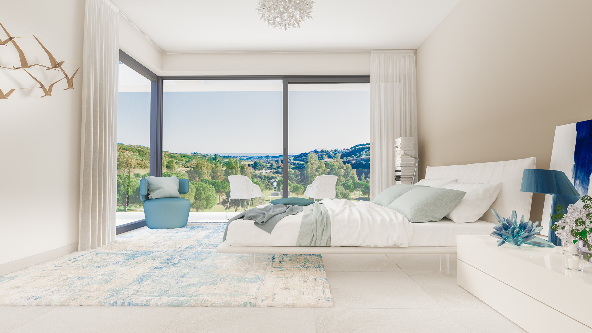 Superb contemporary apartments within golf resort in Mijas Costa
