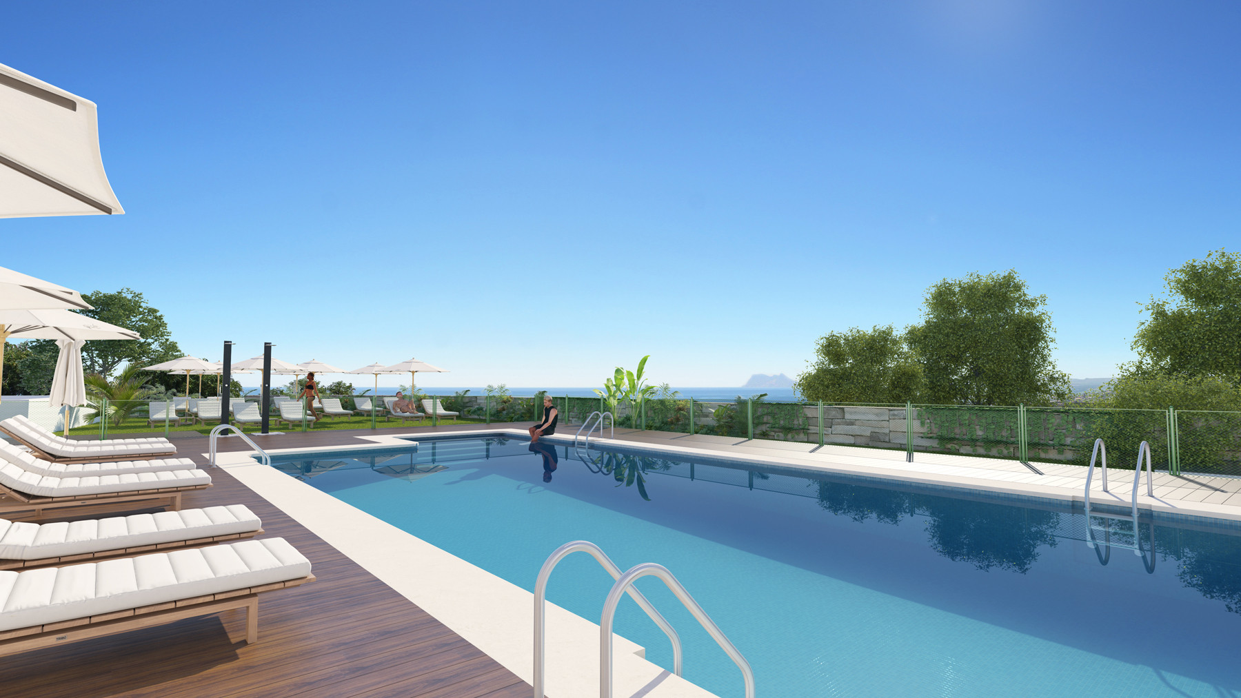 Fabulous townhouses with stunning views in Manilva