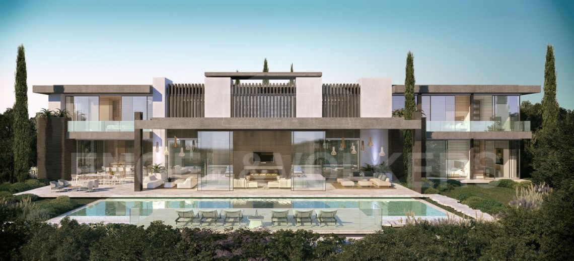 New development of 17 individual villas with amazing sea views situated on the slopes of La Quinta, La Quinta