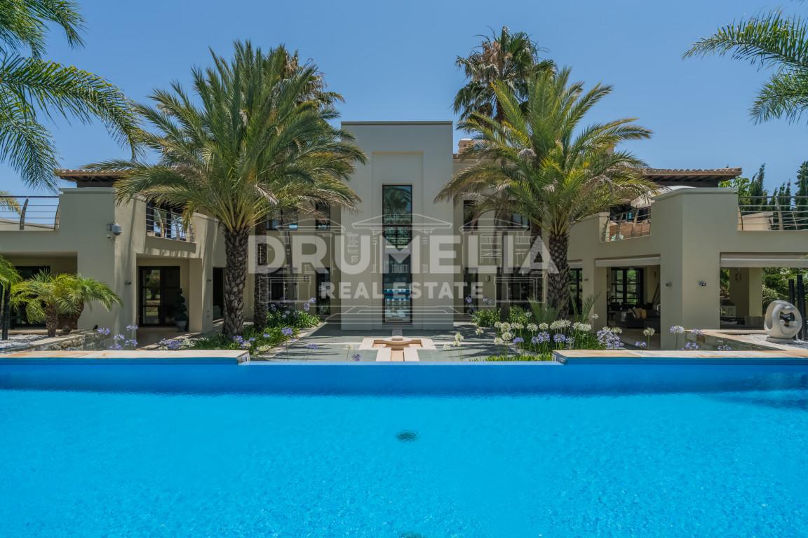 Nueva Andalucia, Exceptional Modern Villa, Atalaya de Rio Verde, Nueva Andalucia (Marbella)