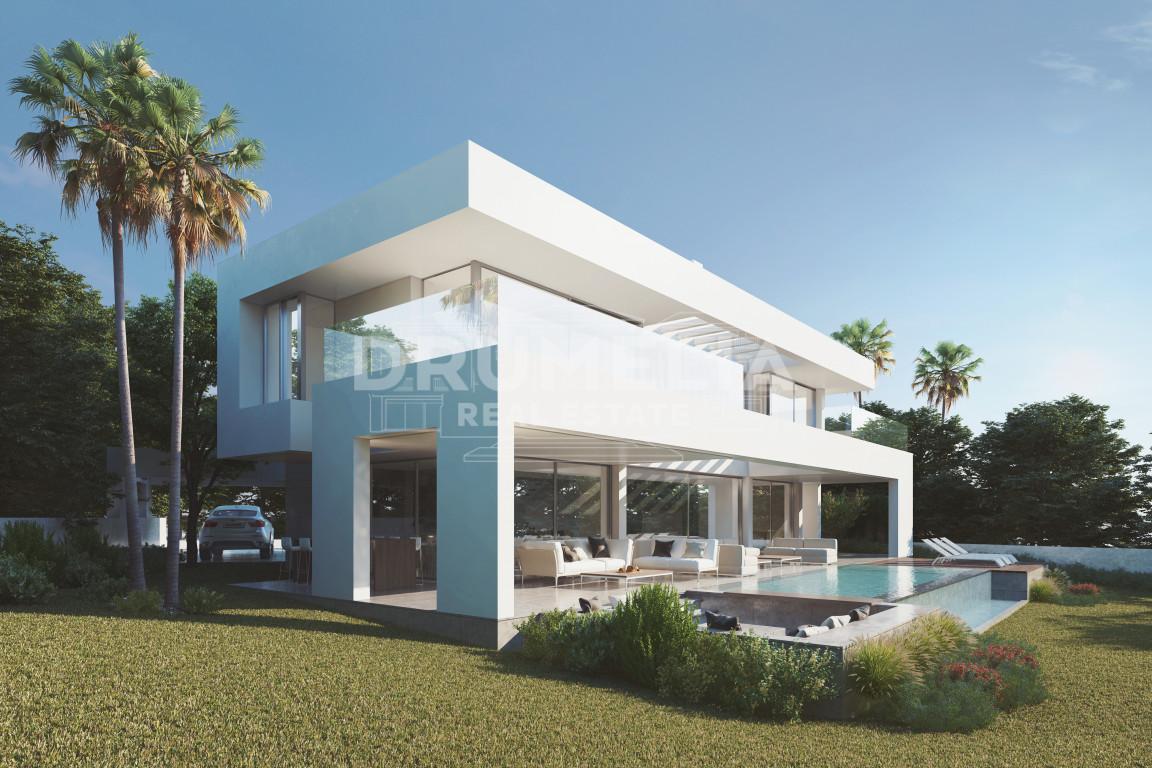 Casares, Fabulous Contemporary Villa Project in Camarate Golf, Casares Playa, Casares